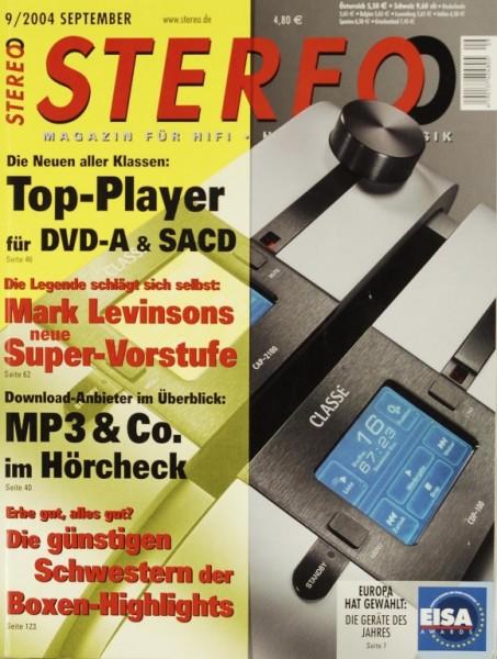 Stereo 9/2004 Zeitschrift