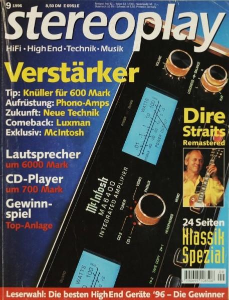 Stereoplay 9/1996 Zeitschrift