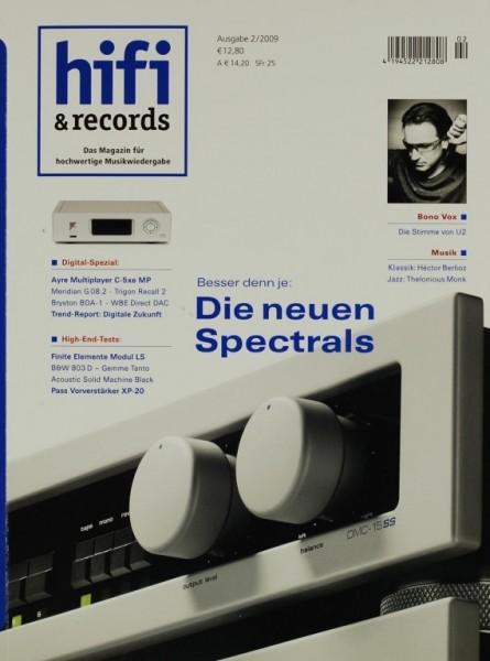 Hifi & Records 2/2009 Zeitschrift
