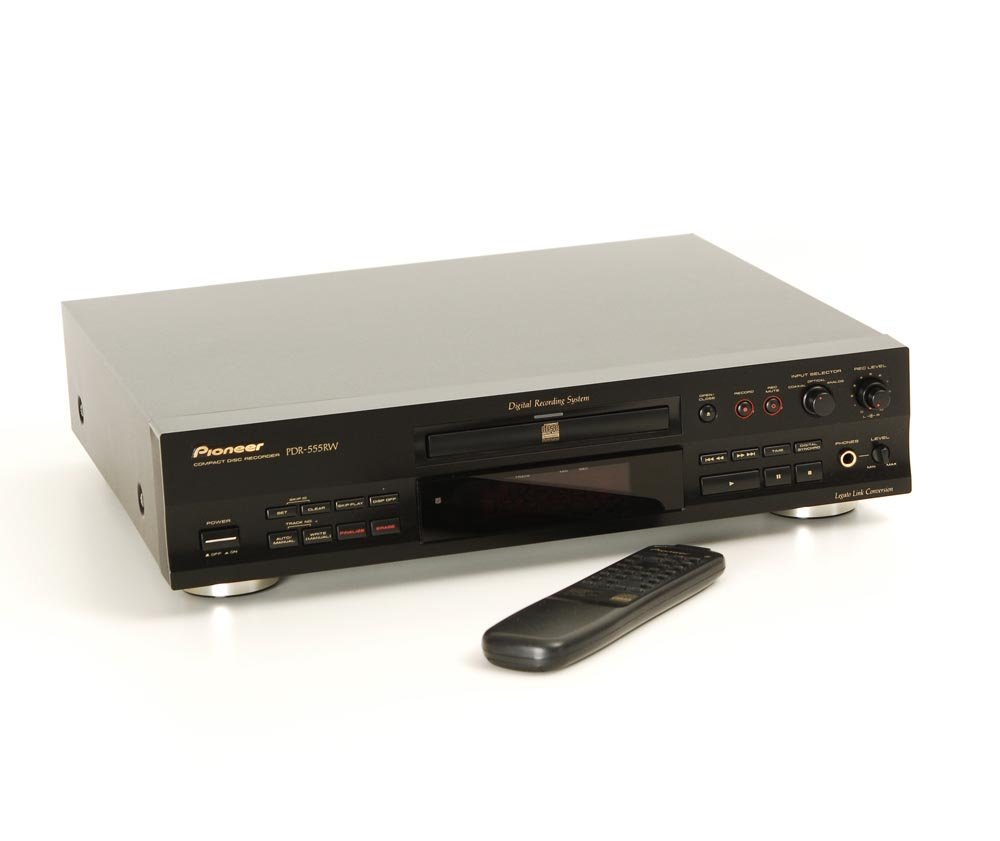pioneer pdr 555 rw cd rekorder cd ger te ger te. Black Bedroom Furniture Sets. Home Design Ideas