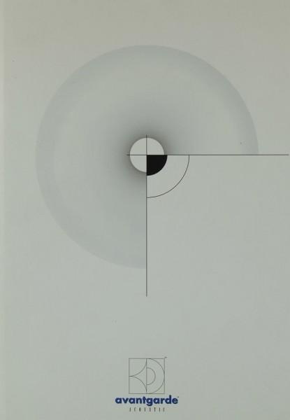 Avantgarde Acoustic Avantgarde Prospekt / Katalog