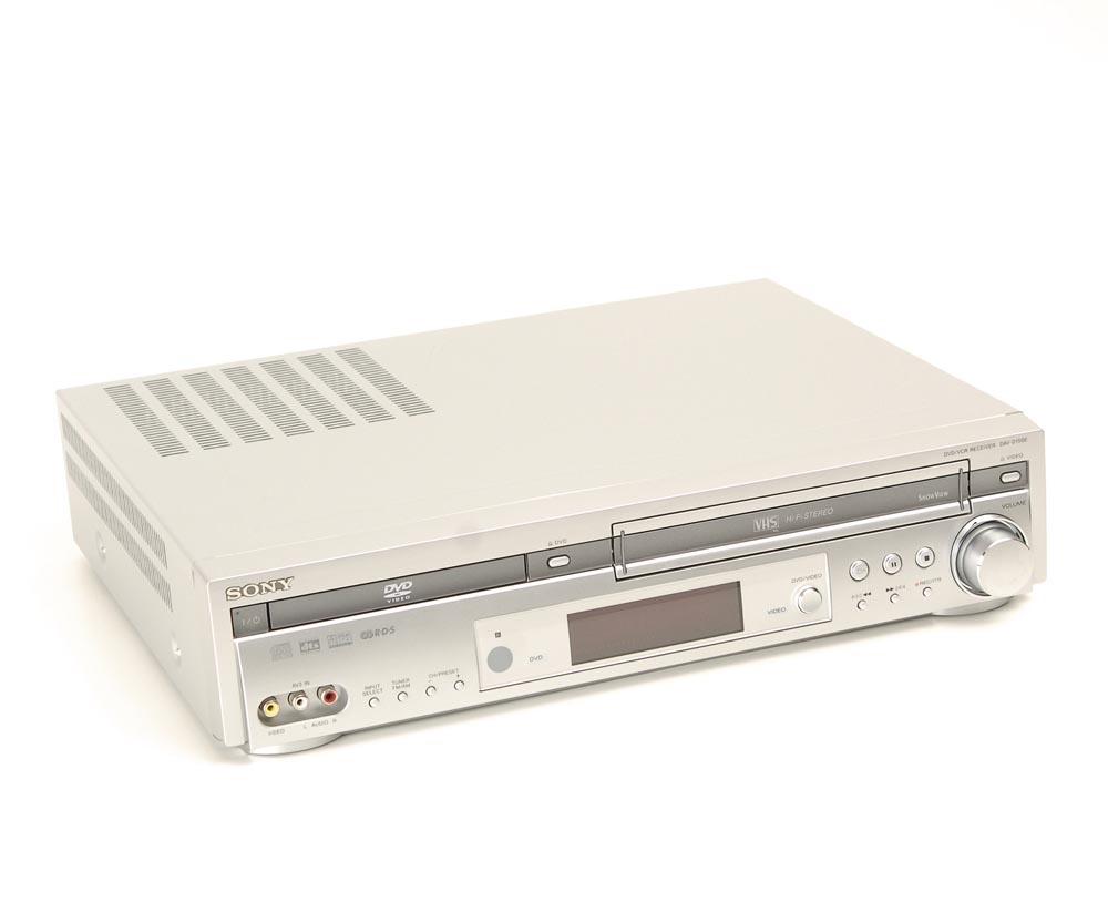 sony dav d 150 e dvd receiver mit video ohne. Black Bedroom Furniture Sets. Home Design Ideas