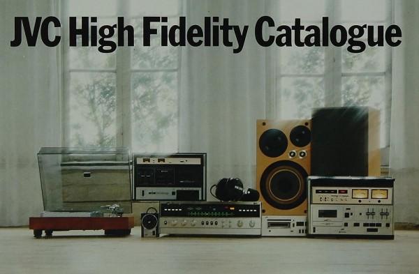 JVC High Fidelity Catalogue Prospekt / Katalog