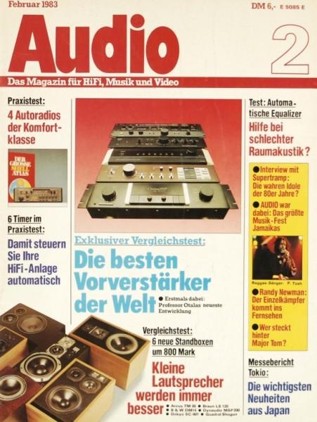 Audio 2/1983 Zeitschrift