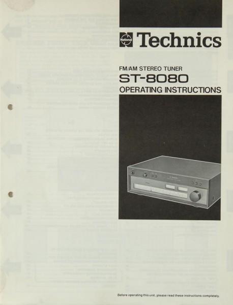 Technics ST-8080 Bedienungsanleitung