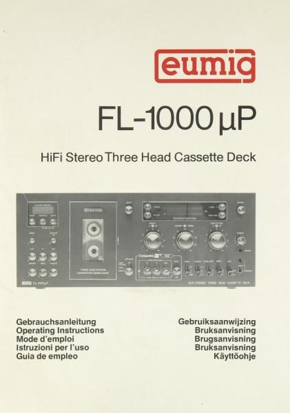 Eumig FL-1000 µP Bedienungsanleitung