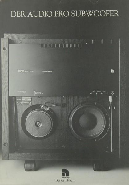 Audio-Pro B 2-50 Prospekt / Katalog