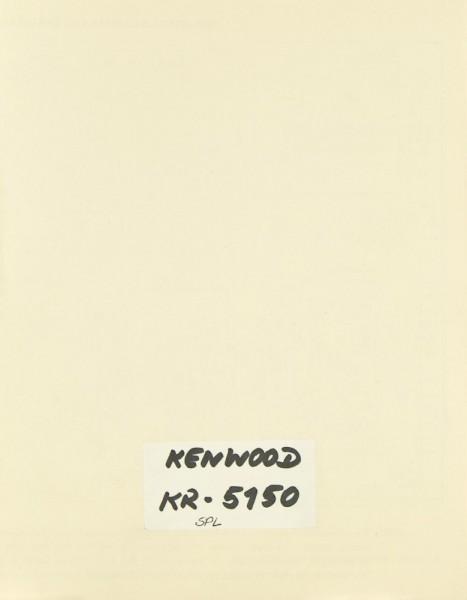 Kenwood KR-5150 Schaltplan / Serviceunterlagen