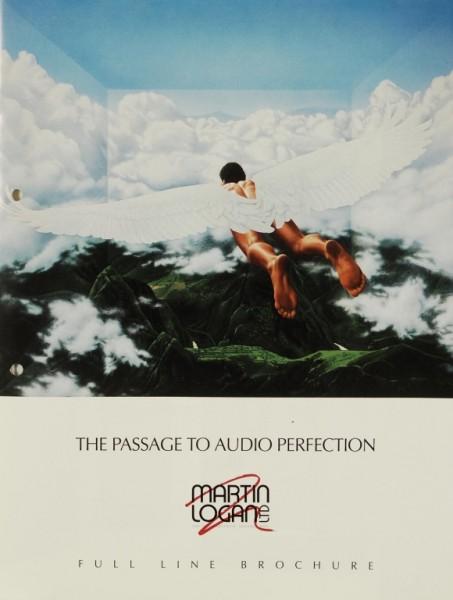 Martin Logan Full Line Brochure Prospekt / Katalog
