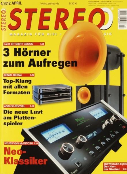 Stereo 4/2012 Zeitschrift