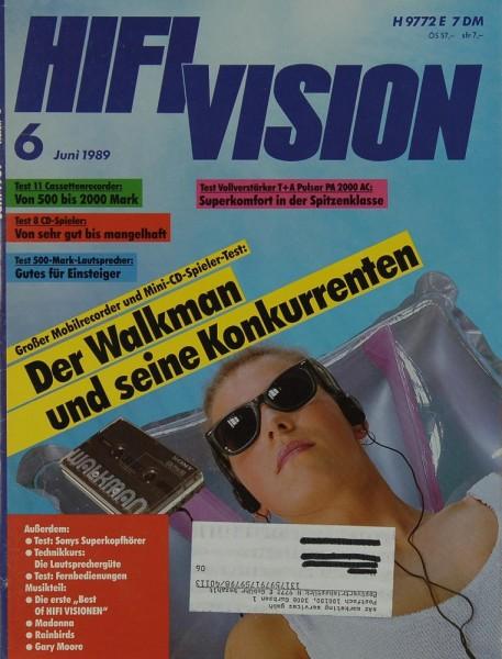 Hifi Vision 6/1989 Zeitschrift