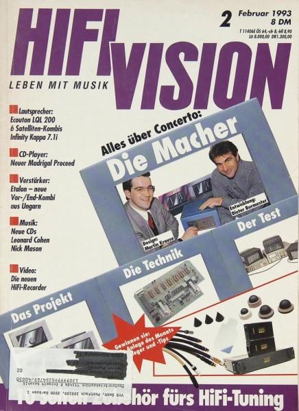 Hifi Vision 2/1993 Zeitschrift