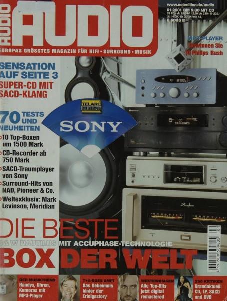Audio 1/2001 Zeitschrift