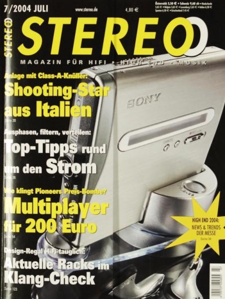 Stereo 7/2004 Zeitschrift
