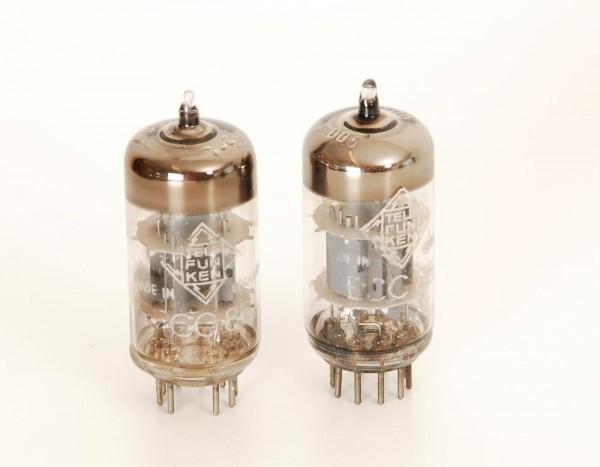 Telefunken ECC85 Paar