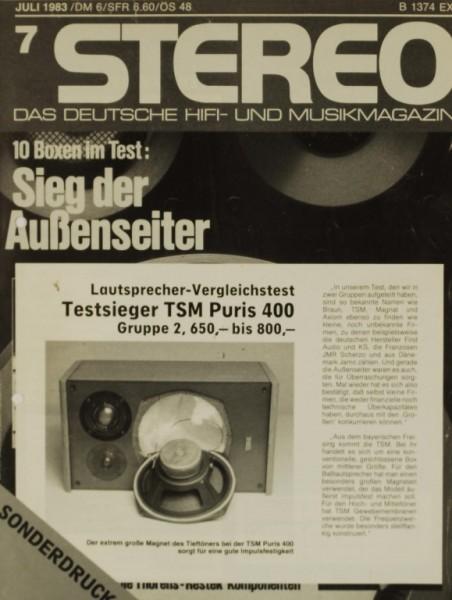 TSM Puris 400 Testnachdruck