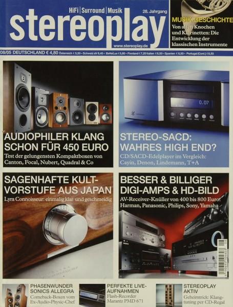 Stereoplay 8/2005 Zeitschrift