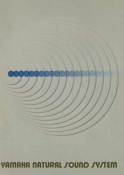 Yamaha Natural Sound System Prospekt / Katalog