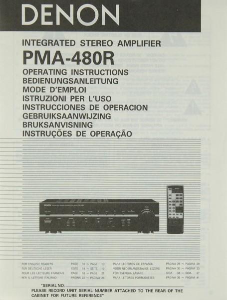 Denon PMA-480 R Bedienungsanleitung