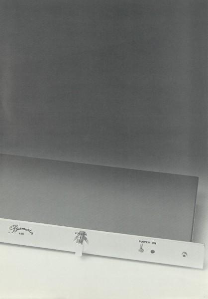 Burmester 846 Prospekt / Katalog