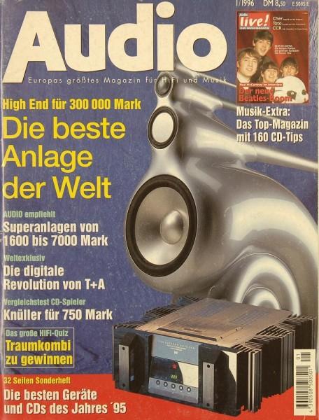 Audio 1/1996 Zeitschrift