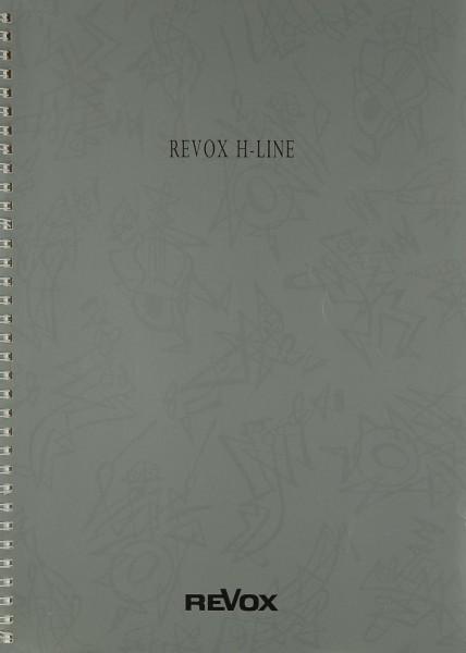 Revox H 5 / H 2 / H 6 Bedienungsanleitung