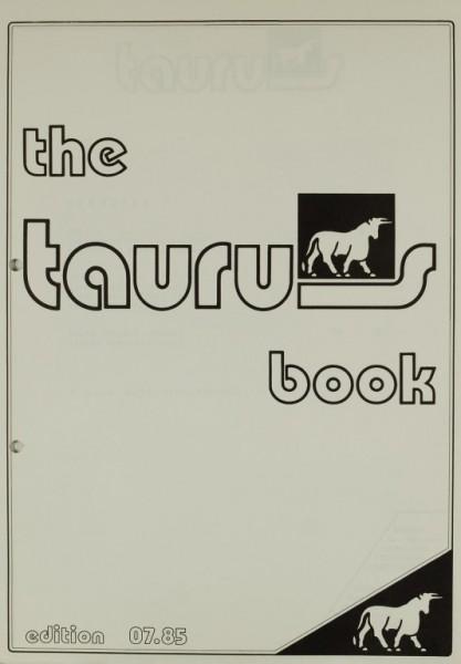 Taurus The Taurus Book edition 07.85 Prospekt / Katalog
