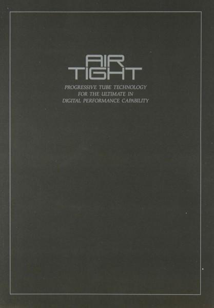 Air Tight ATM-2 / ATM-1 / ATC-1 Prospekt / Katalog