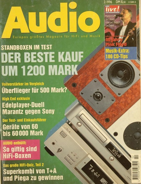 Audio 2/1996 Zeitschrift