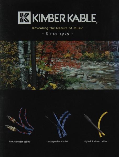 Kimber Kable Revealing the Nature of Music Prospekt / Katalog