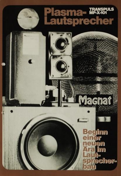 Magnat Transpuls MP-X-101 Plasma-LS Prospekt / Katalog