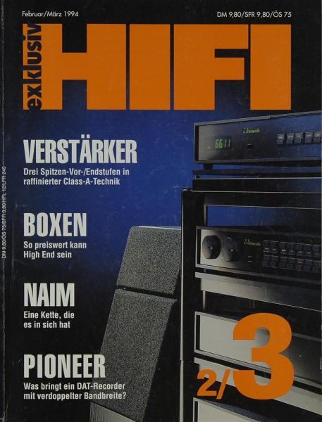 Hifi Exklusiv 2/3 / 1994 Zeitschrift