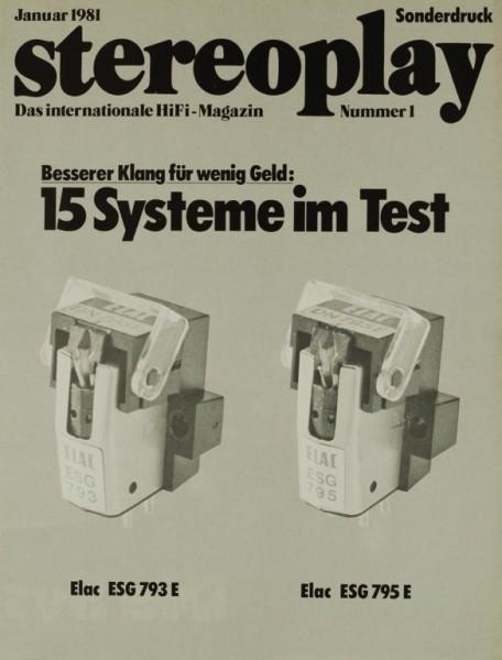 Stereoplay 15 Systeme im Test Testnachdruck