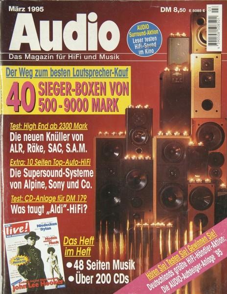 Audio 3/1995 Zeitschrift