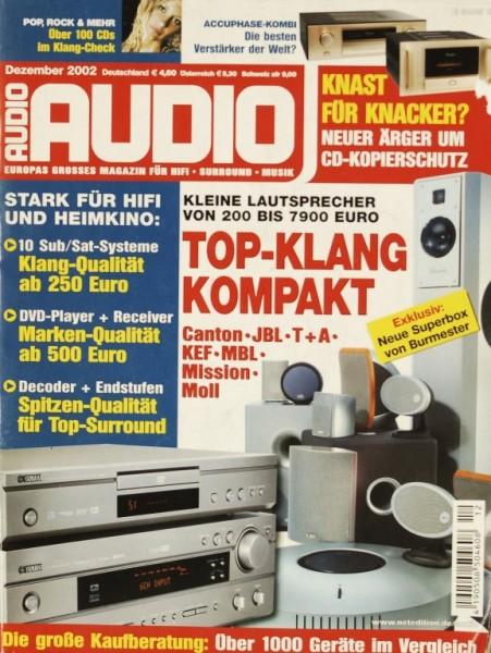 Audio 12/2002 Zeitschrift