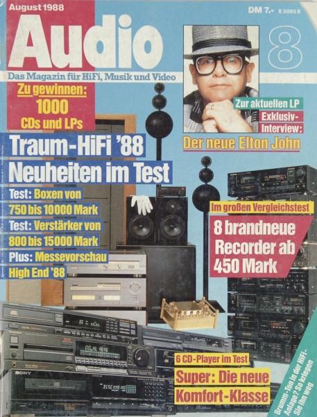 Audio 8/1988 Zeitschrift