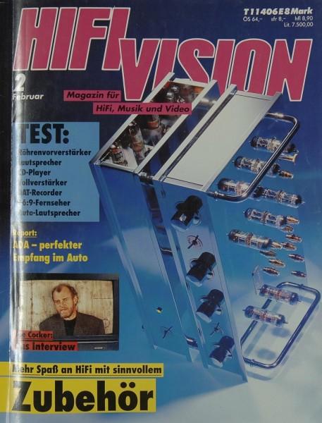 Hifi Vision 2/1992 Zeitschrift