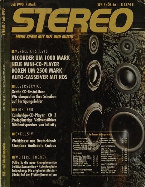 Stereo 7/1990 Zeitschrift