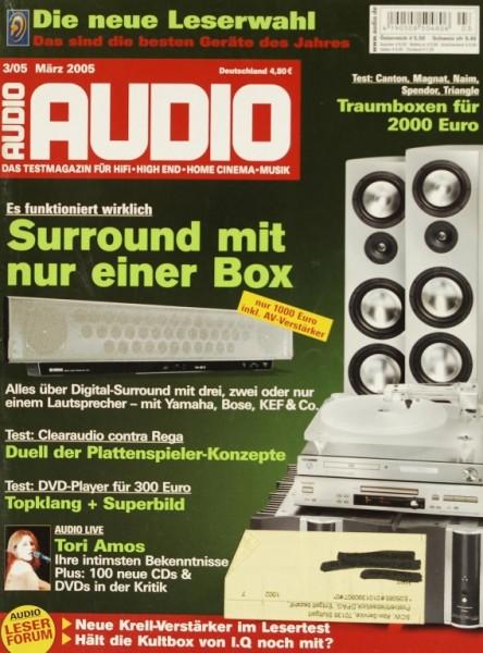 Audio 3/2005 Zeitschrift