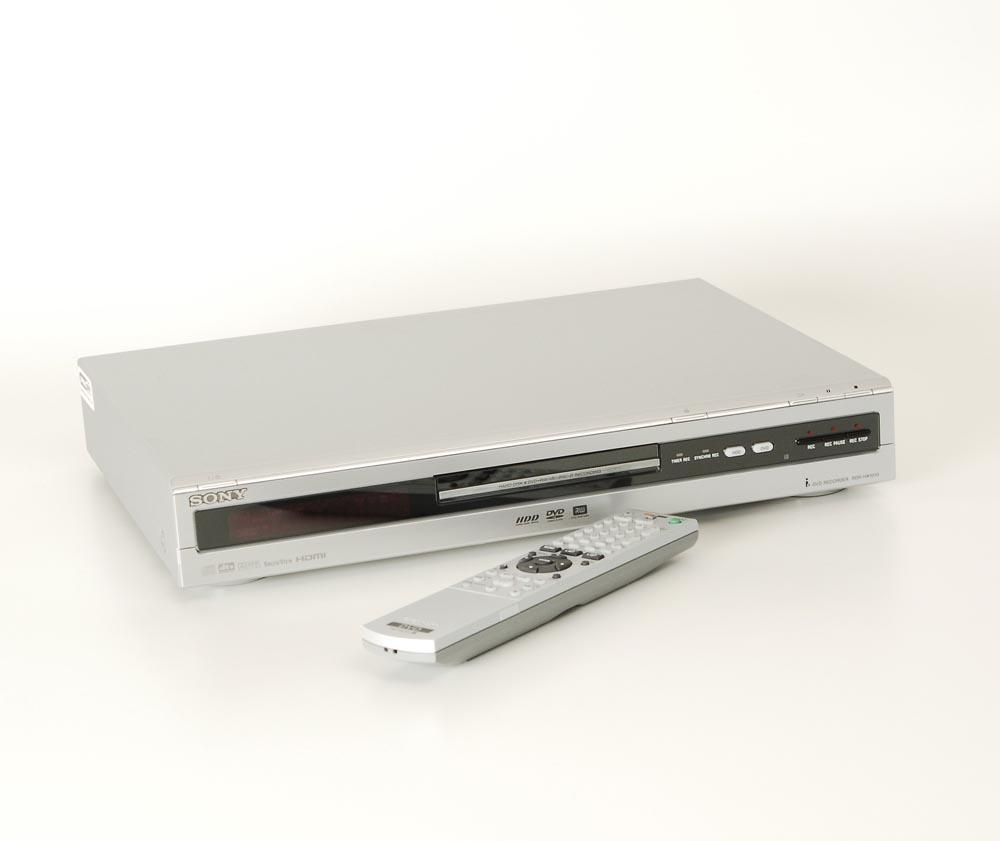 sony rdr hx1010 dvd recorder mit hdd dvd rekorder dvd. Black Bedroom Furniture Sets. Home Design Ideas