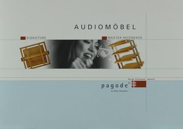 Pagode Audiomöbel - Signature / Master Reference Prospekt / Katalog