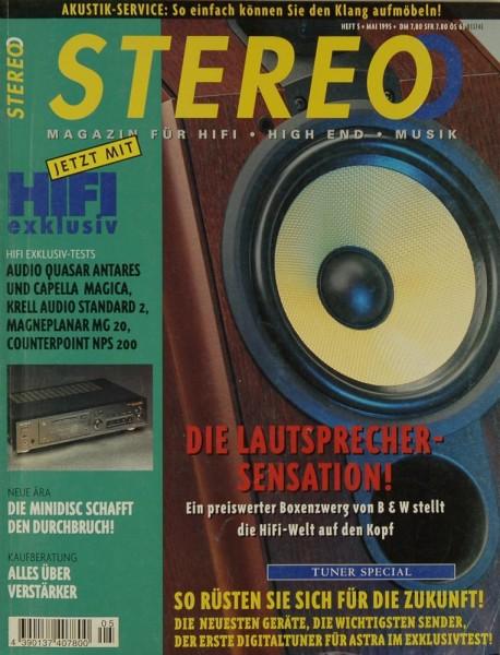 Stereo 5/1995 Zeitschrift