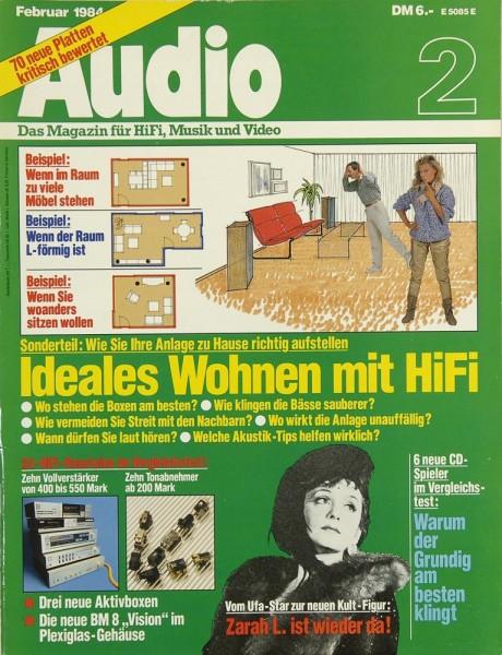 Audio 2/1984 Zeitschrift