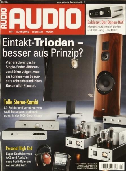 Audio 3/2014 Zeitschrift