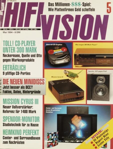 Hifi Vision 5/1994 Zeitschrift