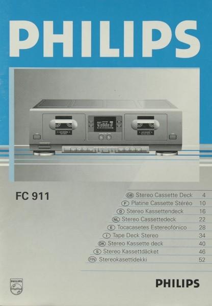 Philips FC 911 Bedienungsanleitung