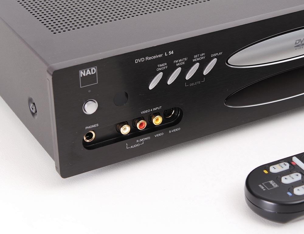nad l 54 receiver mit integ dvd receiver ger te. Black Bedroom Furniture Sets. Home Design Ideas
