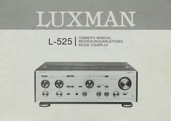 Luxman L-525 Bedienungsanleitung