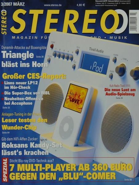 Stereo 3/2007 Zeitschrift