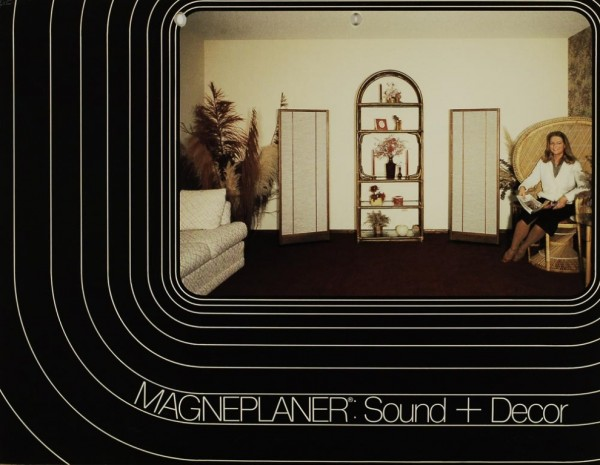 Magnepan Magneplaner: Sound + Decor Prospekt / Katalog